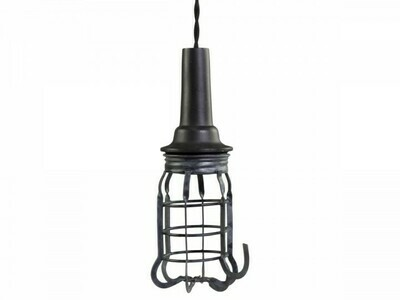Factory Cage Lamp - Handmade