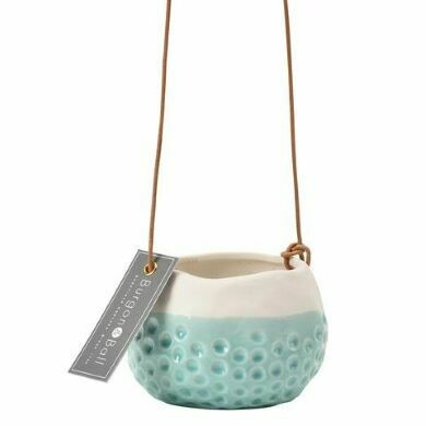 Burgon & Ball 'Baby Dotty' Hanging Pot
