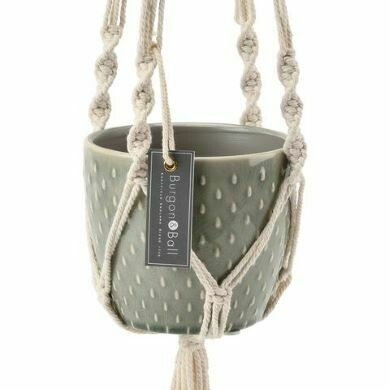 Burgon & Ball Macramé Hanging Pot