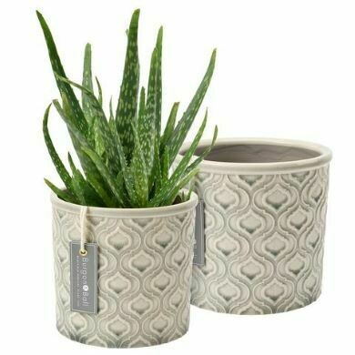 Burgon & Ball Porto Glazed Pot Venetian Grey