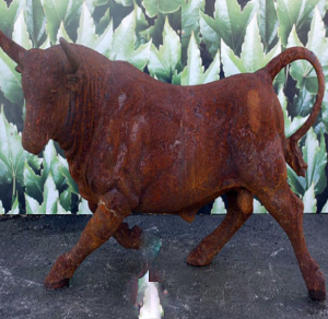 Rumpus Rusty Bull