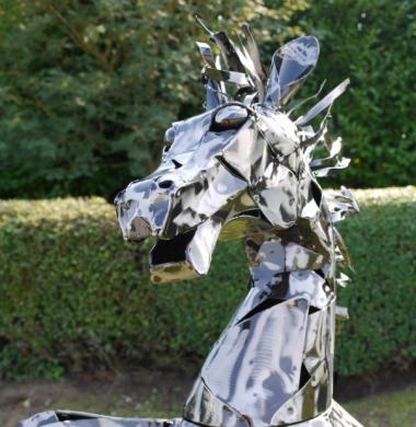 Henry the Startled Horse!
