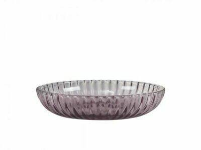 Heather Grooved Soap Dish