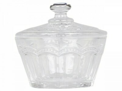 Antoinette Pearl Edge Bowl with Lid
