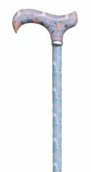 Flamingoes Derby Walking Cane  *new*