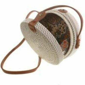 Fair Trade Rattan Bags