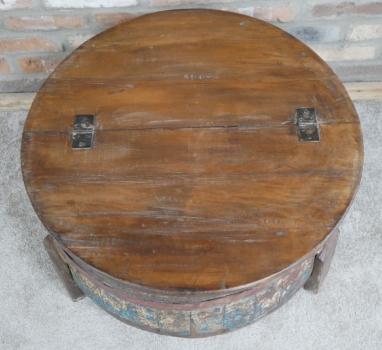 Reclaimed Barrel Coffee Table