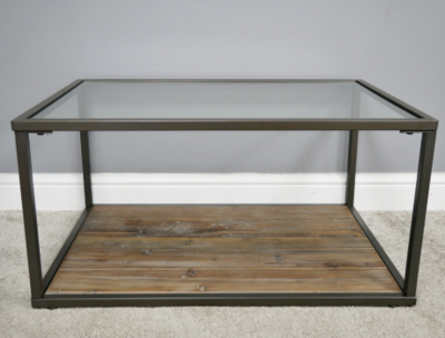 The Surrey Glass Coffee Table
