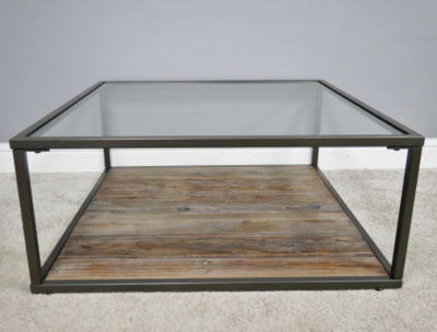 The Surrey Large Glass Coffee Table