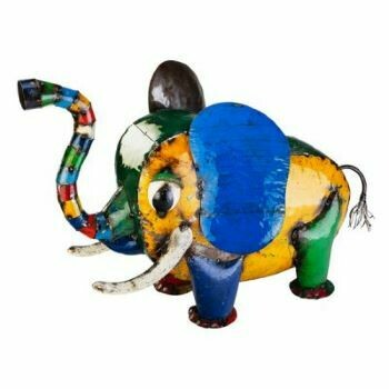 Recycled Elie Elephant Sculpture
