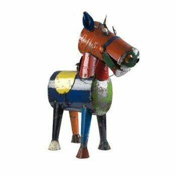 Recycled Henry Horse  Sculpture