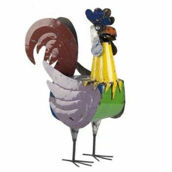 Recycled Roger Rooster Sculpture