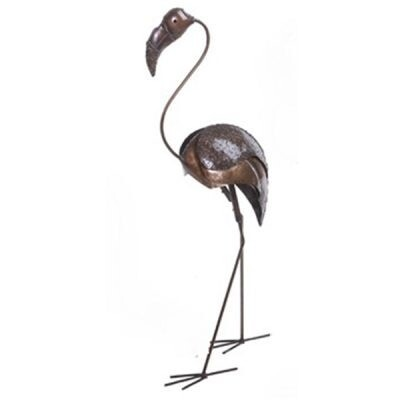 Recycled Flamingo Sculpture