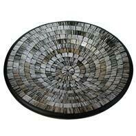 Fair Trade Mosaic Bowl - Greys