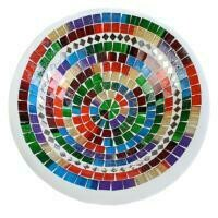 Fair Trade Mosaic Bowl - Rainbows