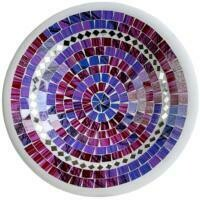 Fair Trade Mosaic Bowl - Purple