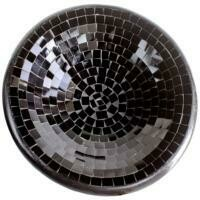 Fair Trade Mosaic Bowl - Black