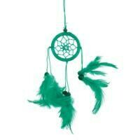 Dreamcatcher Green Thread with Black Beads