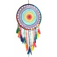 Dreamcatcher Rainbow Crochet