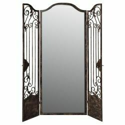 Mirrored Iron Room Divider
