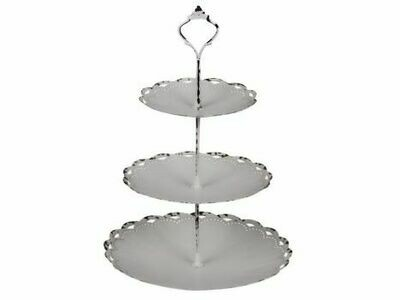 Etagere with Lace Edge