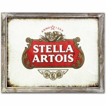 Stella Artois Advert Metal Picture