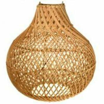 Fair Trade Onion Lampshade