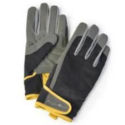 Dig the Glove Slate Gents Grey Corduroy Gardening Gloves