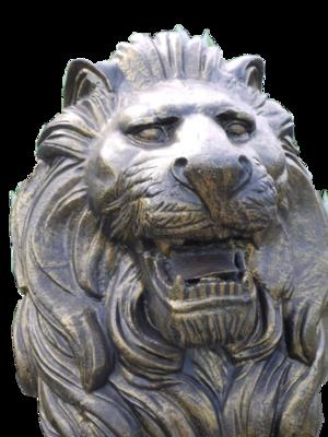 The Rex Lion Statue
