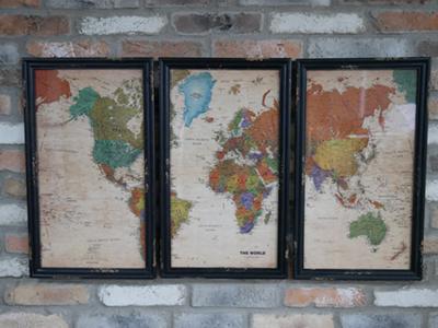 World Cabinet Map