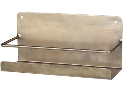 Brass Bathroom Shelf Available October