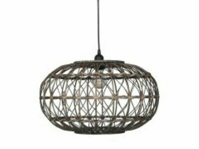 Louis French Rattan Lamp