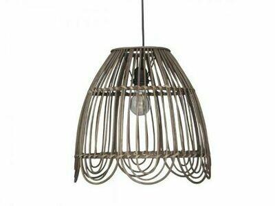 French Petticoat Rattan Lamp