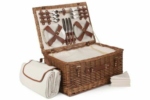 Six Person Classic Picnic Hamper