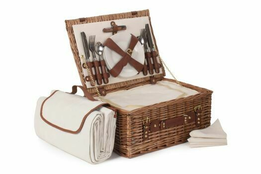 Four Person Classic Picnic Hamper