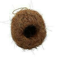 Fair Trade Coconut Fibre Bird House