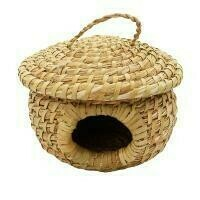 ​Fair Trade Woven Hogla Bird House