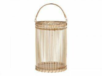 Pair of Bamboo Lanterns