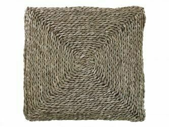 Braided Seagrass Square Cushion