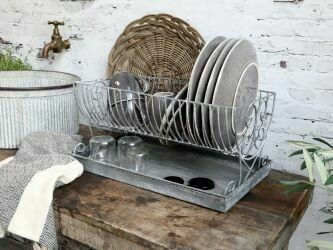 Plate Rack with Tray