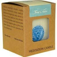 Chakra - Meditation Candle - Throat