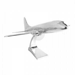 1930's DC-3 Aeroplane Desk Paperweight Model