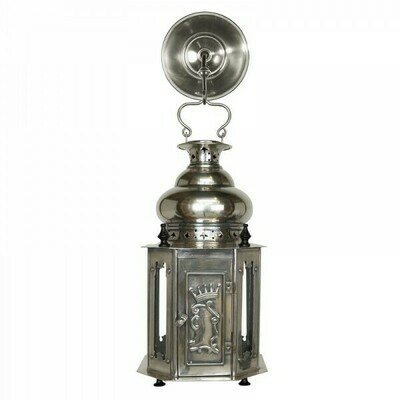 Antique Silver Finish Venetian Lantern