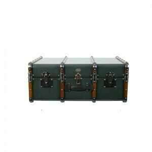 Stateroom Trunk Table - Petrol