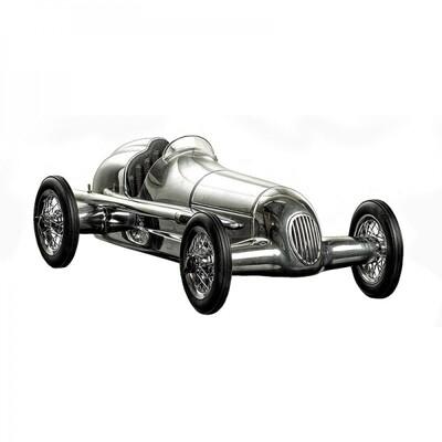 Silberpfeil Car - Silver