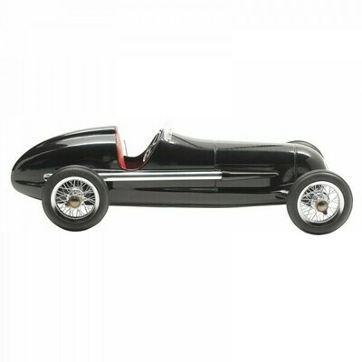 Silberpfeil Car Black with Red Seat