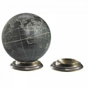 Duotone Bronze Globe Base