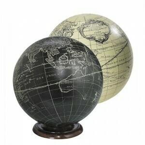 Vaugondy Large Black Sphere Globe