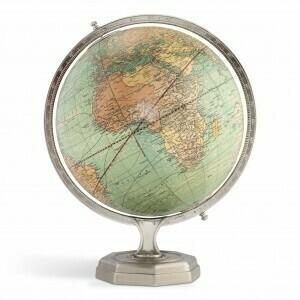 Weber Costello Vintage Round Globe