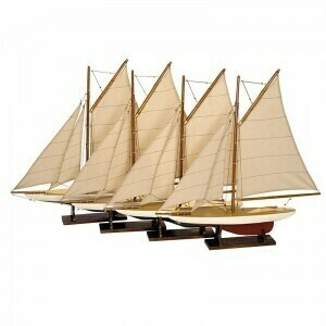 Mini Pond Yachts Set of 4